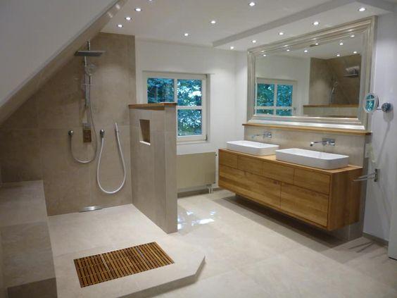 Wohnideen, Interior Design, Einrichtungsideen \ Bilder Attic - wohnideen small bathroom