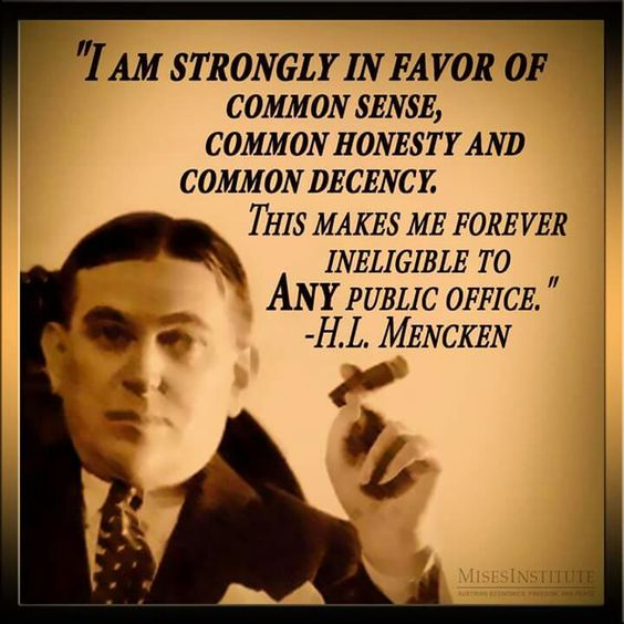 Quote By Hl Mencken: Pinterest • The World's Catalog Of Ideas