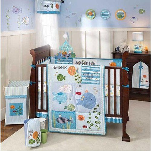 Baby Crib Bedding, Baby Bedding Under The Sea