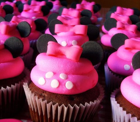 ~Minnie Mouse Cupcakes~
