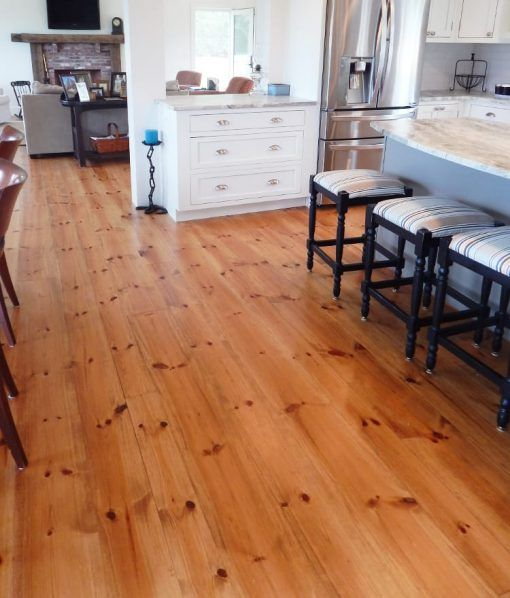 Pumpkin Pine Flooring Floors