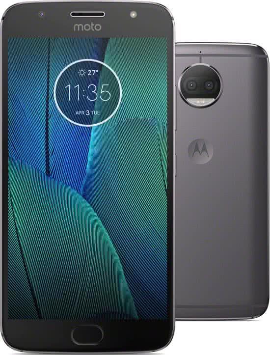 Motorola Moto G5s Plus 32gb Grijs Grijs Close Up Foto S En