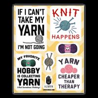 Yarn Stickers