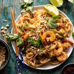 Better Than Takeout Garlic Butter Shrimp Pad Thai Half Baked Harvest Recipe In Pad Thai Half Baked Harvest Recipes Shrimp Pad Thai