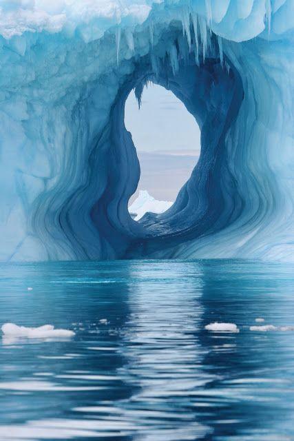 Die Antarktis... wunderschöne Eislandschaften