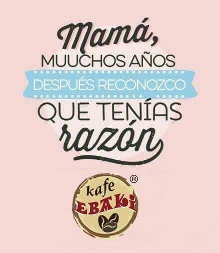 Y si , que razón tenías ... <3 #AllYouNeedIsLove #FelizSabado #10DeMayo #DiaDeLasMadres #MothersDay #Desayunos #Breakfast #Yommy #ChaiLatte #Capuccino #Hotcakes #Molletes #Chilaquiles #Enchiladas #Omelette #Huevos #Malteadas #Ensaladas #Coffee #CDMX #Gourmet #Chapatas #Party #Crepas #Tizanas #SodaItaliana #SuspendedCoffees #CaféPendiente  Twiitter @KafeEbaki  Instagram kafe_ebaki www.facebook.com/KafeEbaki…