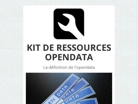 Kit de ressources #open #data