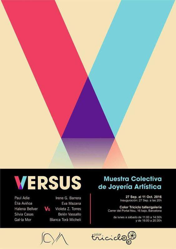 """OFF JOYA 2016 - """"VERSUS"""" Muestra colectiva de joyería artistica. Color Triciclo taller/galeria"""