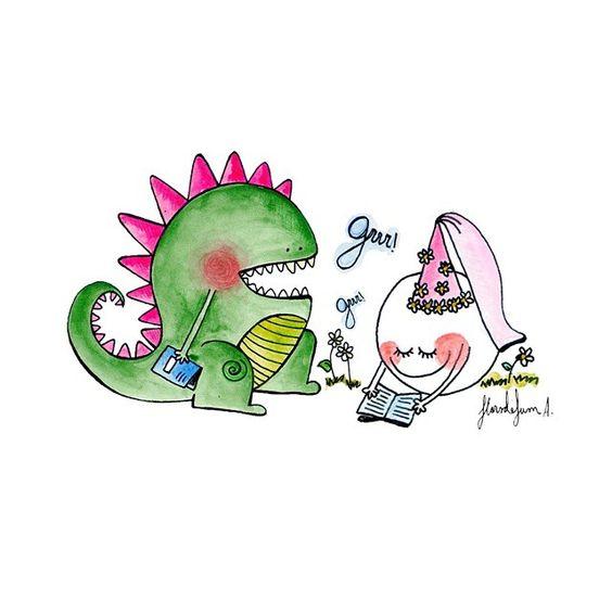 Els dracs també llegeixen!