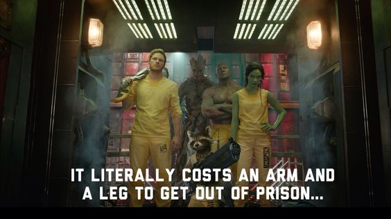 Guardians of the Galaxy. Punny stuff!!