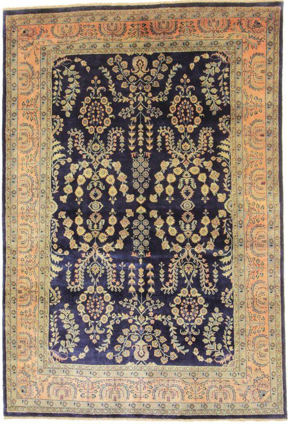 Sarug Nomadisch handgeknüpft Teppich 243 x 165 cm carpet