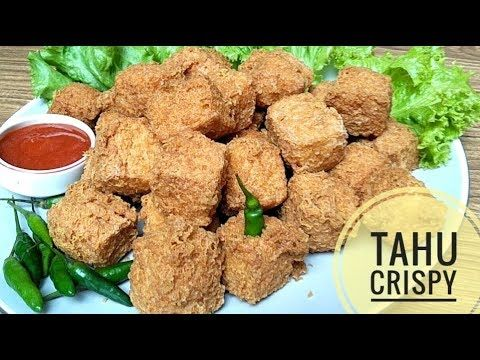 Cara Membuat Tahu Crispy Youtube Dog Food Recipes Snack Recipes Food Receipes