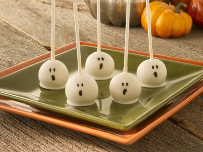 Cake Pops with a Halloween Twist!
