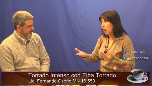 Torrado intenso: Programa 9 Invitado: Lic. Fernando Osorio MN 16.559 Tema: Estar atentos