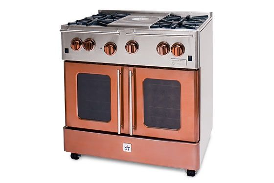 my dream range of all that are on the market today so gutted and remodeled master bath or this range first bluestar infused copper 36 gas range modern