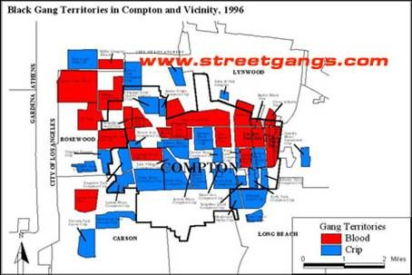 black gang territories in compton and vicinity 1996 law
