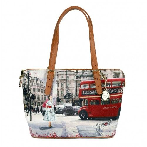 Borse Why Not.Borsa Y Not Londra Bus Ride J 388 Bags Tote Bag Tote