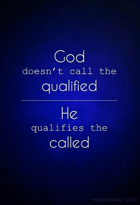 He qualifies the Called
