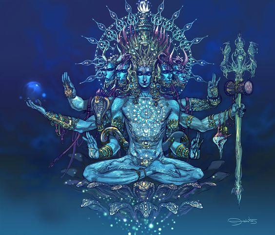 """""""Sada-Shiva"""" by Abhishek Singh"""