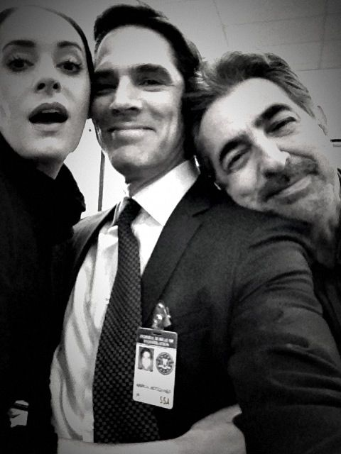 Criminal Minds Behind The Scenes (courtesy Thomas Gibson ...
