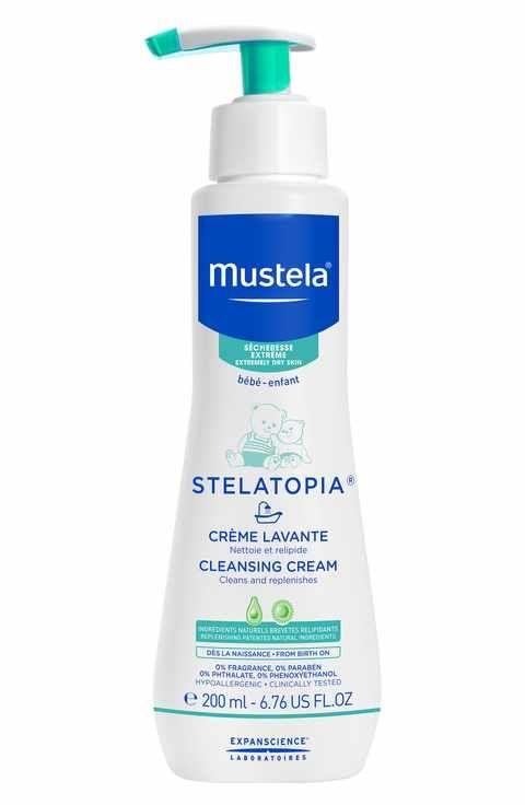 mustela stelatopia cream cleanser acne