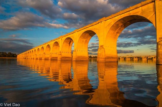 the bridges of Harrisburg, PA Photo by Viet Dao -- National Geographic Your Shot