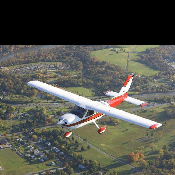 Grass strip airplane vinton county ohio