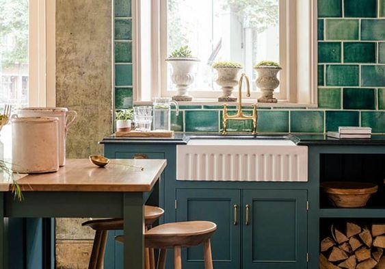 Bespoke Kitchens by deVOL - Classic Georgian style English Kitchens