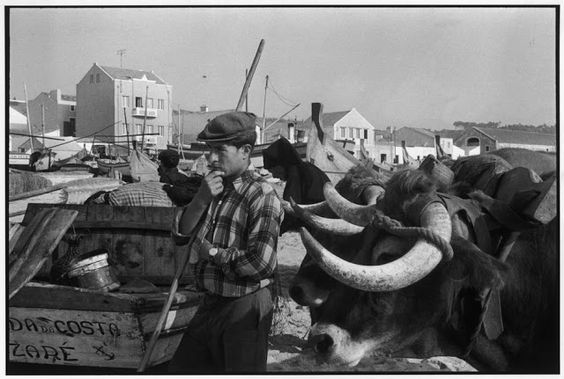 Nazaré Henri Cartier-Bresson en Portugal. 1955. | Turismo en Portugal
