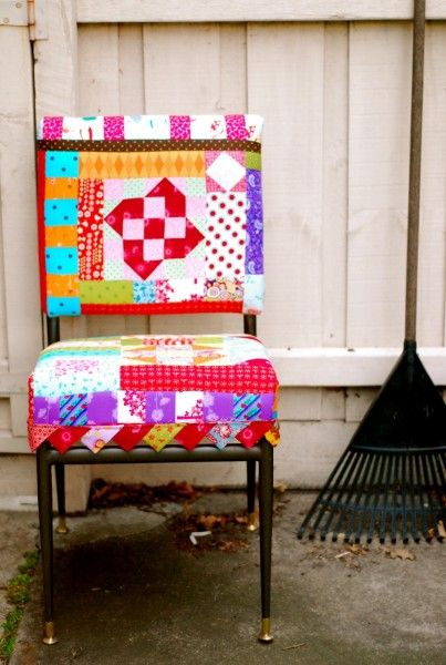 Quilt top chair!