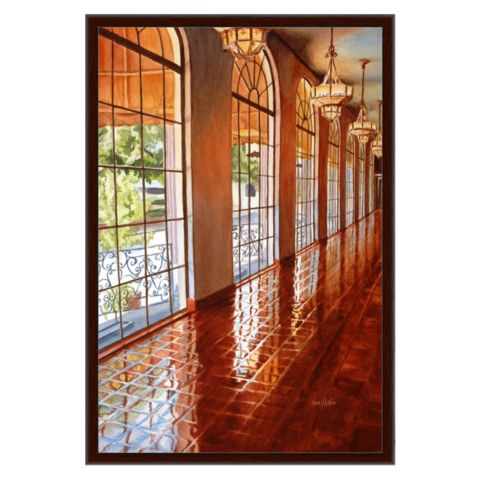 Reflections-Framed Canvas Wrap