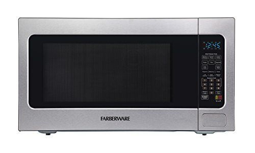 Farberware Professional Fmo22abtbka 2 2 Cubic Foot 1200 Watt Microwave Oven With Smart Sensor Cooking Stainless Steel Microwave Oven Portable Ice Maker Farberware
