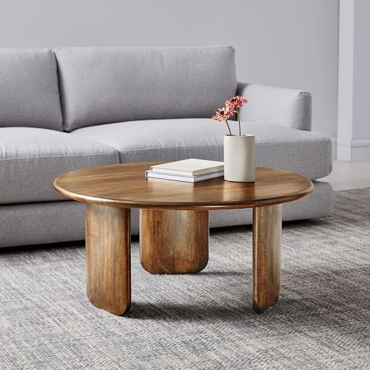 Anton Solid Wood Coffee Table Round Round Wood Coffee Table Coffee Table Wood Coffee Table