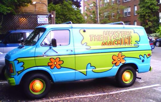 Real Life Mystery Machine