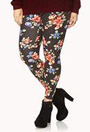 Vibrant Floral Leggings