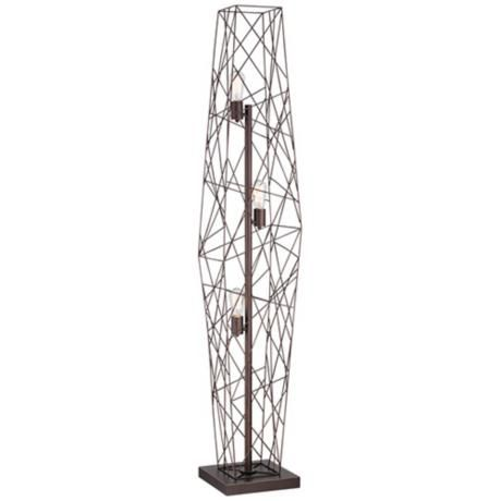 Webster Wire Cage Floor Lamp -