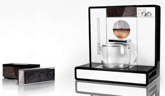 The Tesera Teemachine is a Super-Sleek Teapot to Serve at a Tea Party #kitchen trendhunter.com