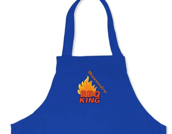 Tablier BBQ King à personnaliser