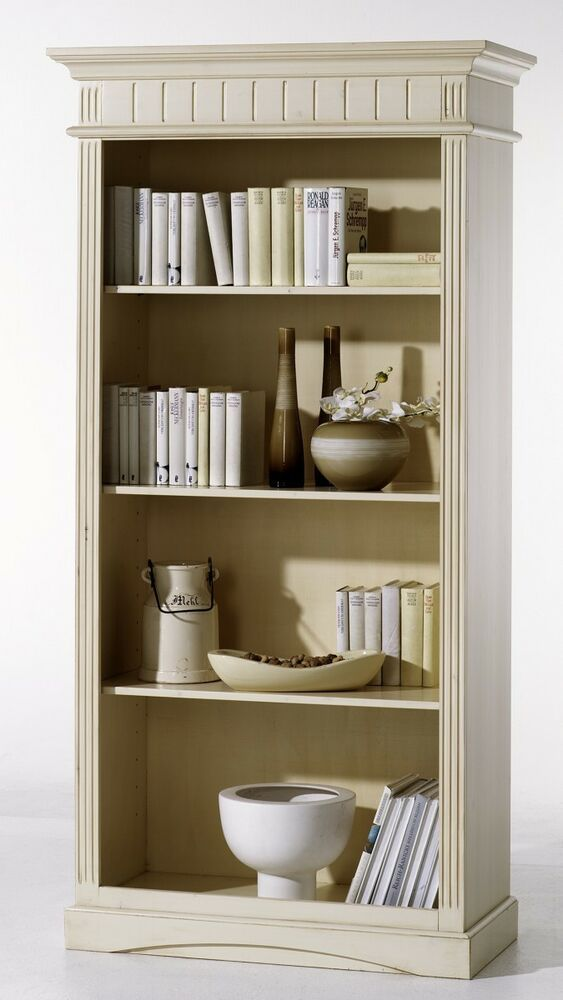 Bücherschrank Landhausstil Regal Standregal Bücherregal