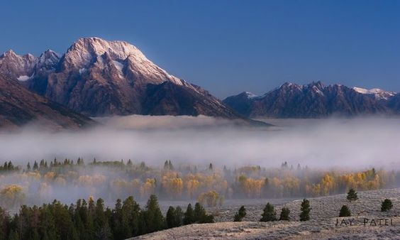 Coming of Fall, Grand Tetons, WY