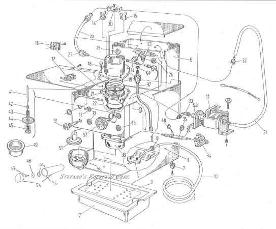 espresso machine patent drawing  patent  drawing