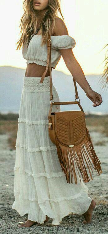 Insanely Cute White Skirt