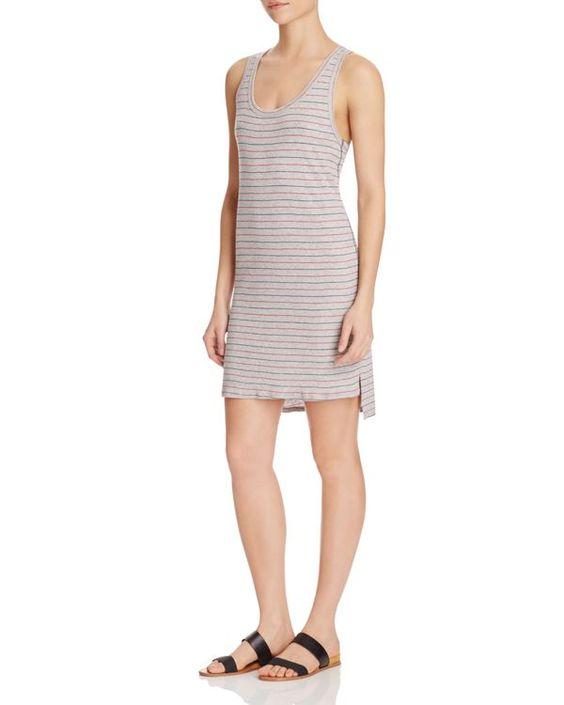 Nation Ltd Nelly Stripe Racerback Dress
