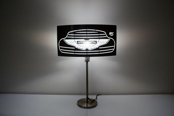 Details zu Aston Martin led lampe, elegante,stil,original design - led design wohnzimmer