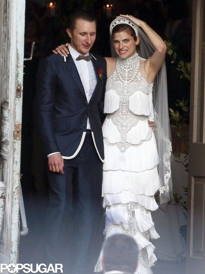 Jennifer Aniston Cameron Diaz Lance Armstrong And Many More Stars Attend Lake Bells Wedding