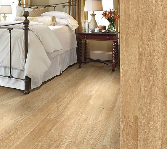Shaw Laminate In A White Oak Visual Inspired By Mellow Oil