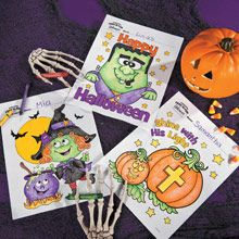 Halloween Coloring Pages | Free-N-Fun Halloween from Oriental Trading