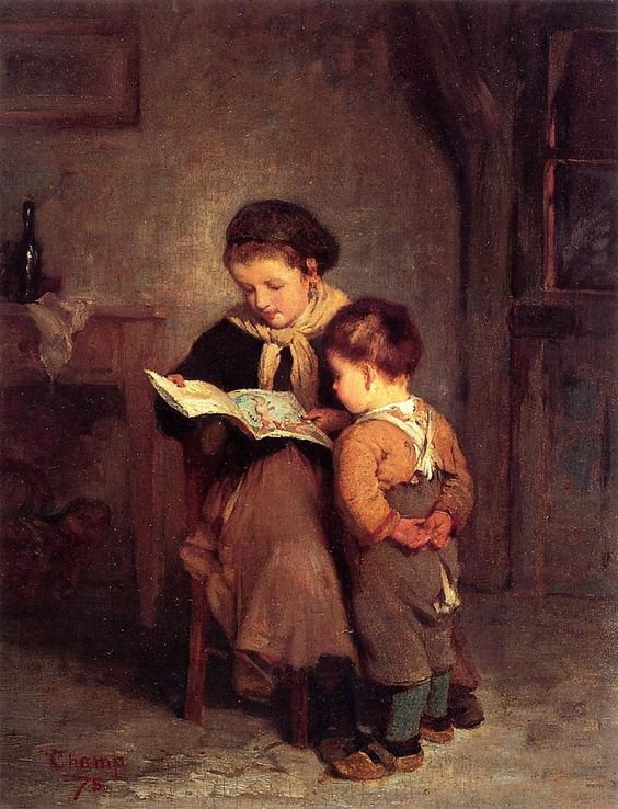 Puss-in-Boots, 1875. James Wells Champney (American, 1843-1903).: