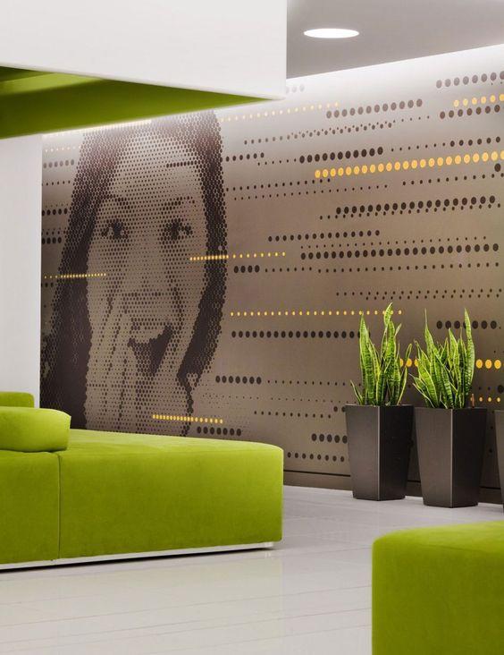 Interior Design Creative Office Wall Art Design Home