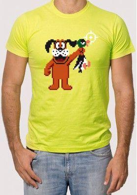 Camiseta Perro Duck Hunt